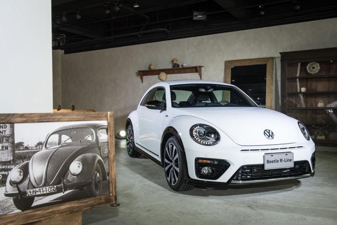 風華80年,新年式Volkswagen Beetle現正發表  R-Line車型升級登場