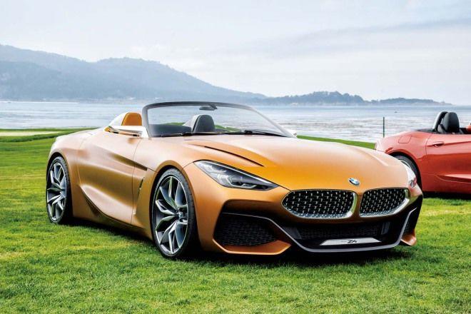 BMW Z4 Concept那個新式的方向盤很令人興奮