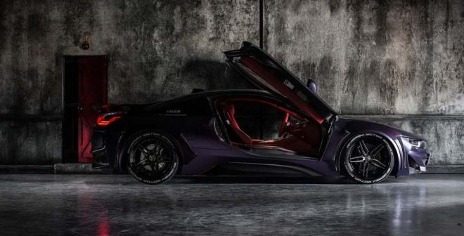 準備穿越未來吧!黑暗騎士的BMW EVO i8