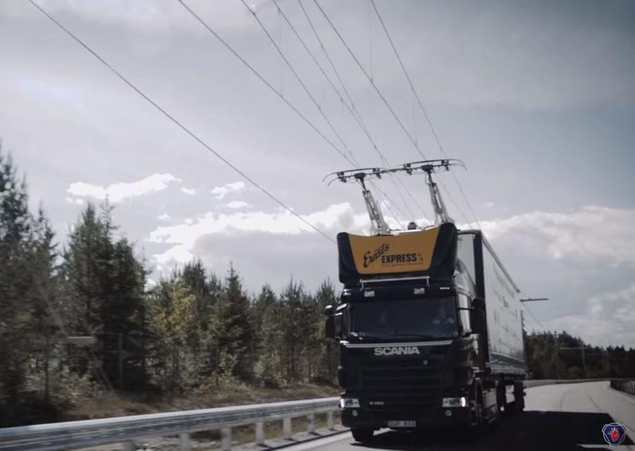 陸地電車?西門子開發卡車專用電纜公路