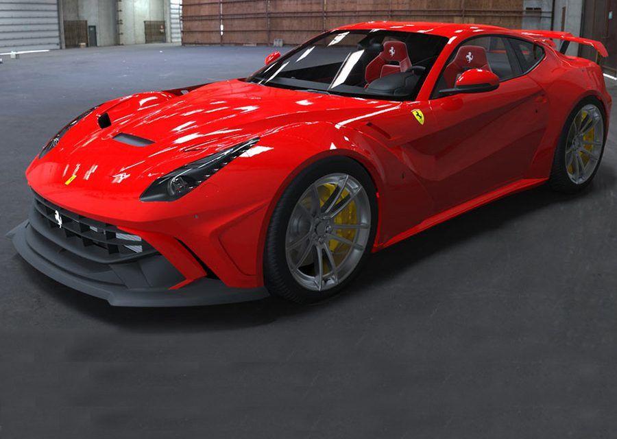 親愛的,我們的馬變胖了!Duke Dynamics限量版寬體改裝Ferrari F12berlinetta!