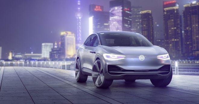 Volkswagen I.D. CROZZ電動跑旅概念車於2017上海車展發表