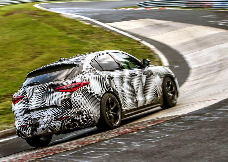 Alfa Romeo又破紐柏林最速紀錄 Porsche再度被擊落