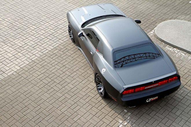 Challenger完全手工打造的外殼,車身線條看得讓人讚嘆不已