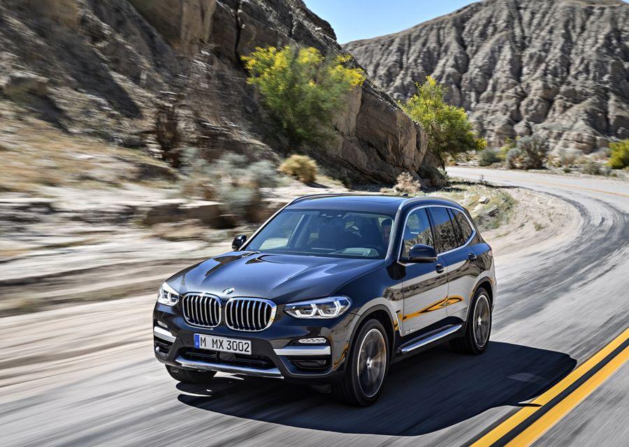 全新第三代BMW X3開始預售接單