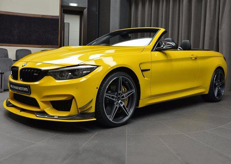 農民驕傲色!添加AC Schnitzer配方後BMW M4 Convertible變成上等香蕉!