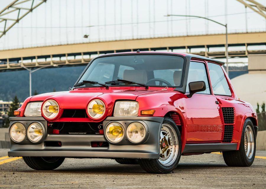 整個城市都是我的拉力賽!經典Renault R5 Turbo 2 Evo稀有釋出!