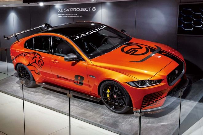 出閘猛獸來襲Jaguar XE SV Project 8