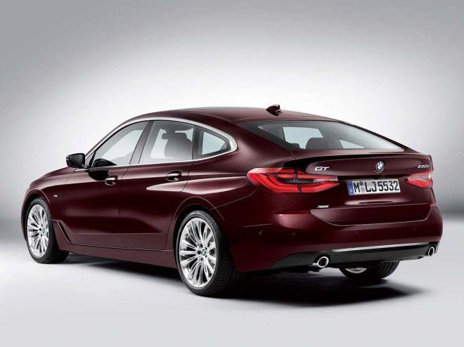 BMW 6-Series Gran Turismo比5 更大也更扁