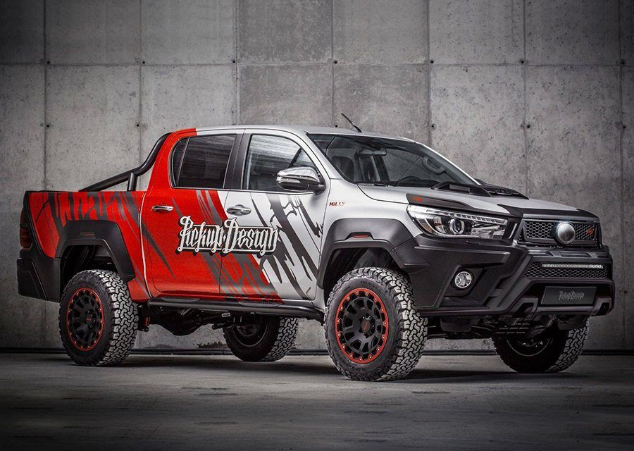 歷經Carlex Design儀態學院……Toyota Hilux變身超硬派型男!