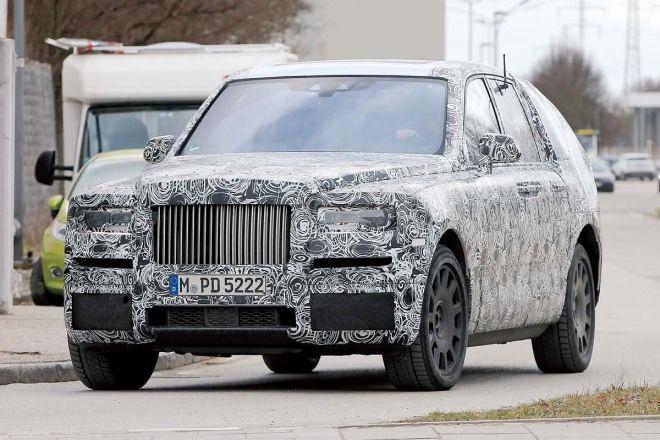 Rolls-Royce Cullinan,Phantom的車頭?