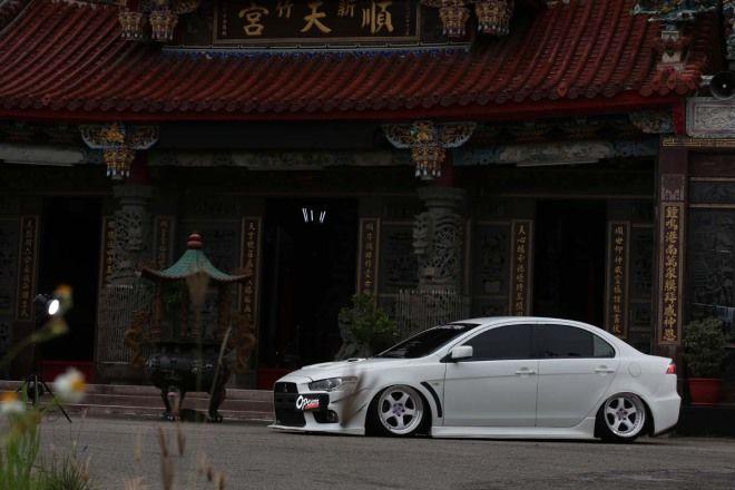 瘋Camber Mitsubishi Fortis  HellaFlush