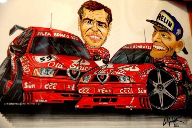 Alfa Romeo迷戀成癡,醫師袍內藏著一個小男孩