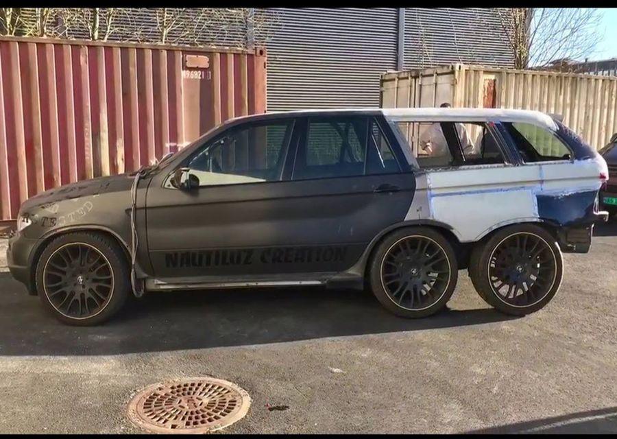 六輪+雙門+BMW X5=????