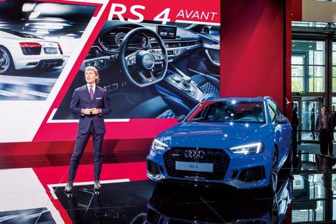 Audi RS4  0~100km/h加速只需短短4.1秒便可完成