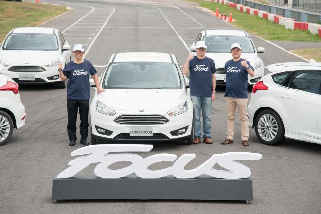 歐系智能轎跑New Ford Focus四門、五門全新上市