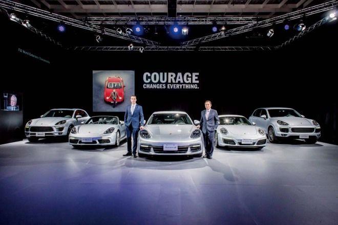 加強耕耘市場Porsche Taiwan正式成立