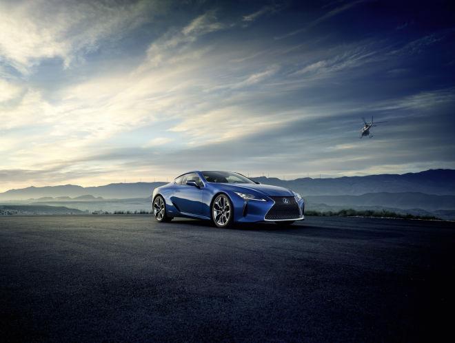 LEXUS全新LC旗艦雙門轎跑追加Limited Edition車型