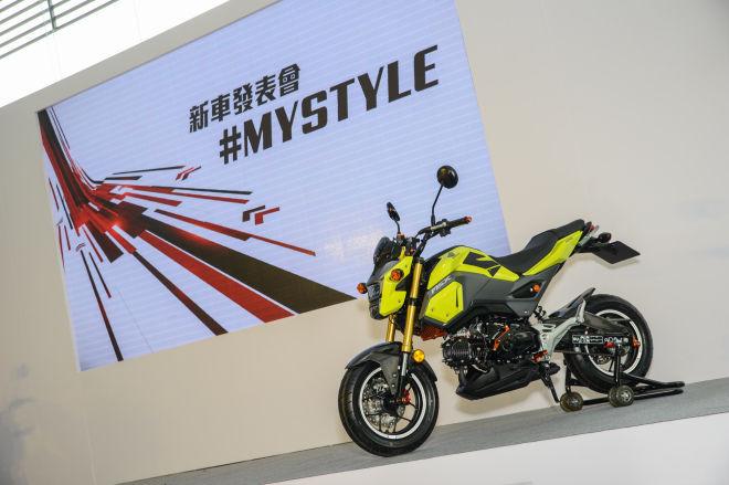 Honda MSX125  首台白牌級距 Fun Bike 正式導入