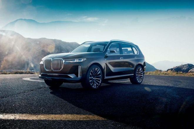 BMW X7相當「美規」的大氣尺碼