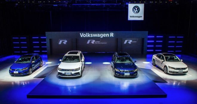VW正式在台發布Tiguan 380 R-Line Performance、Passat 380 R-Line Performance、Passat R-Line等車型