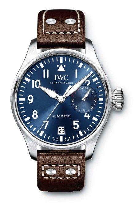 湛藍錶盤錶款 深邃如海