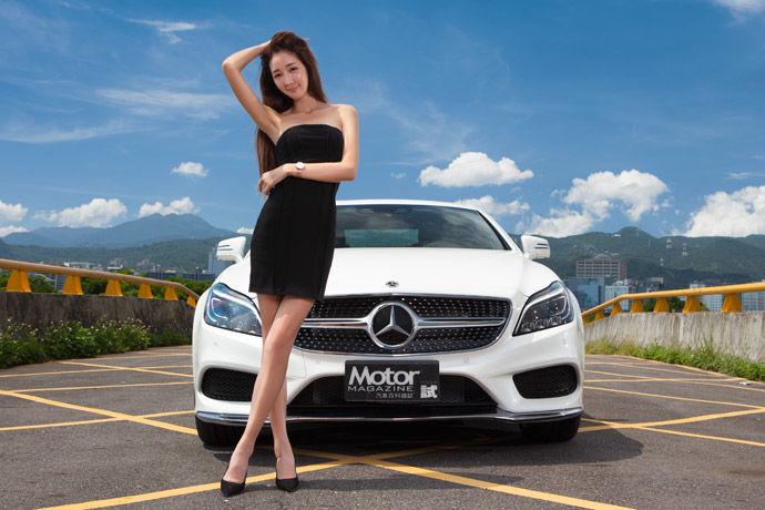 Motor Babe - Mercedes-Benz CLS 400 運動版 豪華轎跑之巔