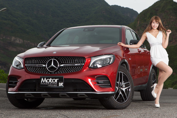 Motor Babe - Mercedes-AMG GLC 43 4MATIC Coupe 性能跑旅 跨界思維