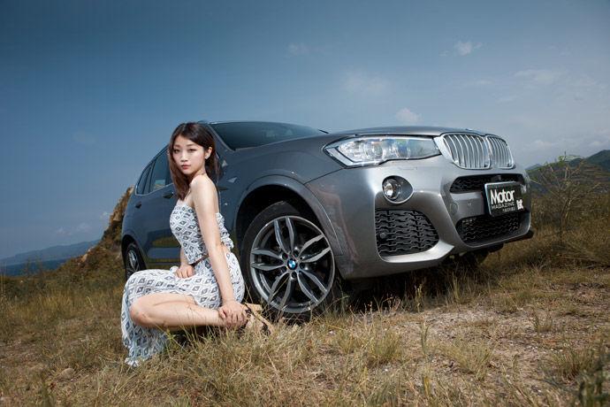 Motor Babe - BMW X3 xDrive28i M Sport Edition 再展魅力