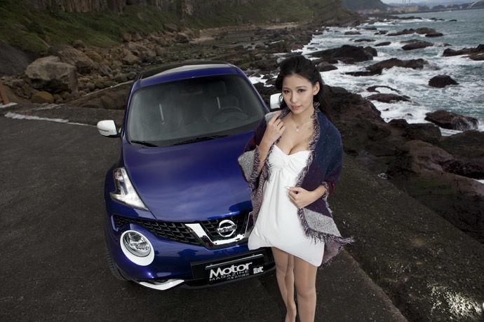 Motor Babe - Nissan Juke 2016個性特仕版 色藝雙全