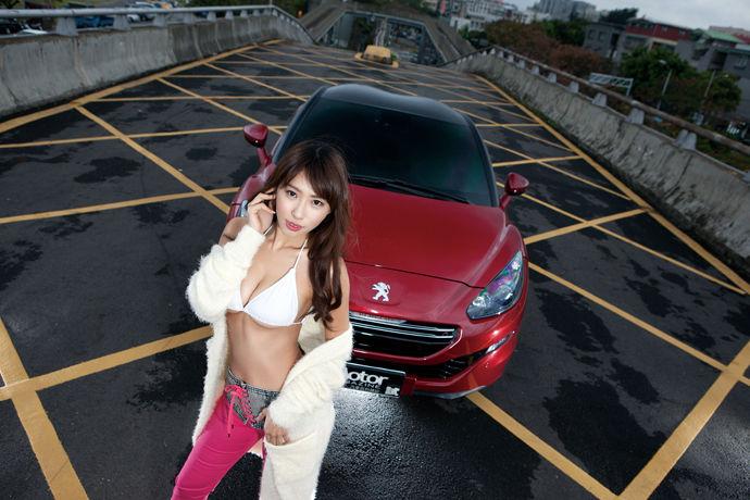 Motor Babe - Peugeot RCZ R  R級性能獅王