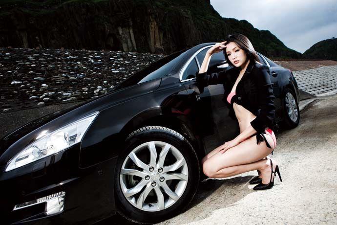 Motor Babe - Peugeot 508 HYbrid4 崇尚節能 柴電獅王