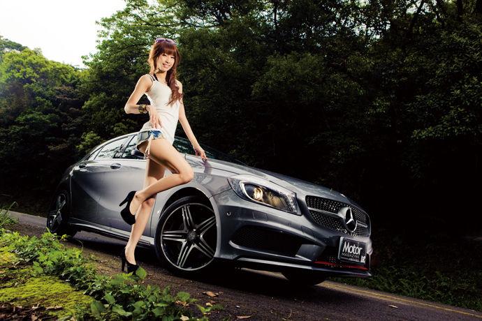 Motor Babe - Mercedes-Benz A250 Sport  鋼砲王者降臨