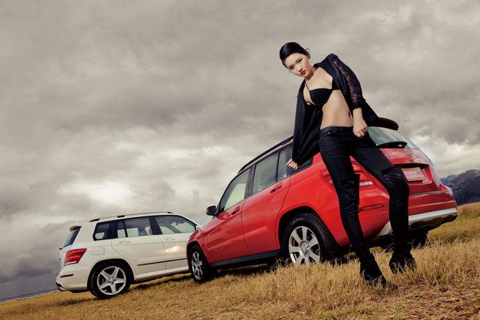 Motor Babe - Mercedes-Benz The new GLK-Class 我的時尚態度