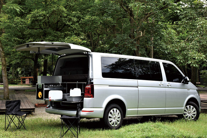 Volkswagen Caravelle L 110kw 露營套件