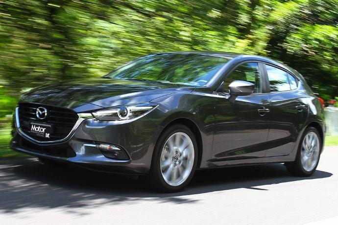 中堅魂動完全體 2017年式 Mazda3