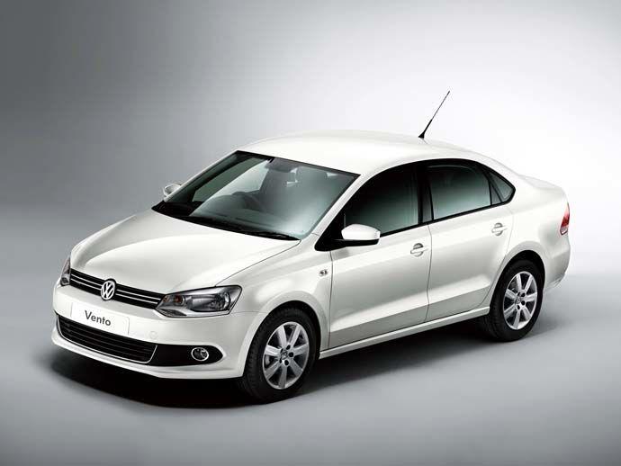 進攻國產市場 Volkswagen The Vento