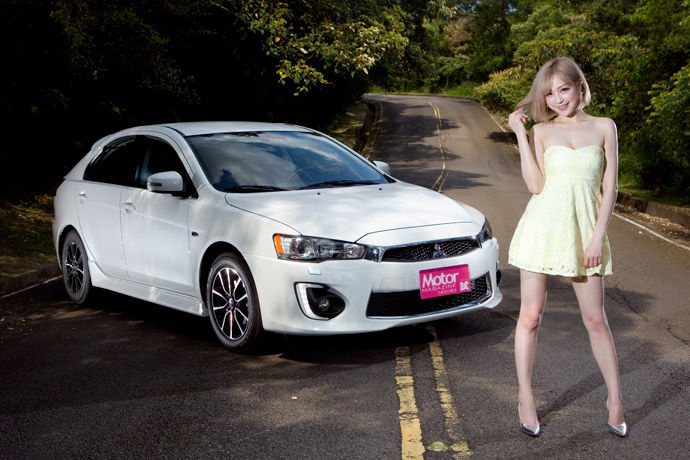 Date With LUCY - Mitsubishi Lancer Sportback 一見傾心