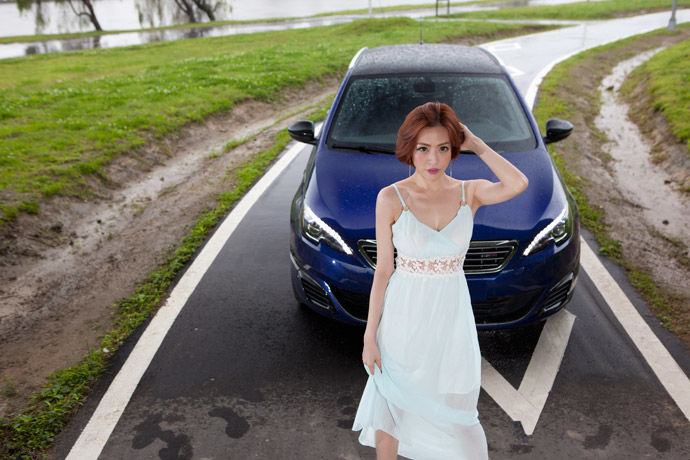 Date With LUCY - Peugeot 308 SW GT 旅獅 柴吼震耳