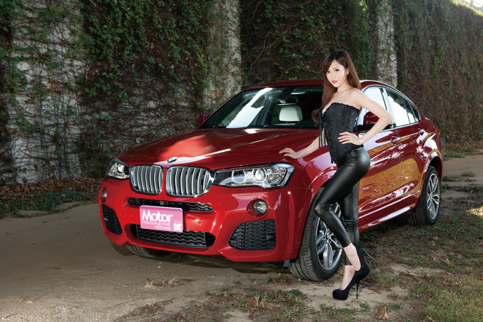 Date With LUCY - BMW X4 xDrive35i M Sport 屏息之美