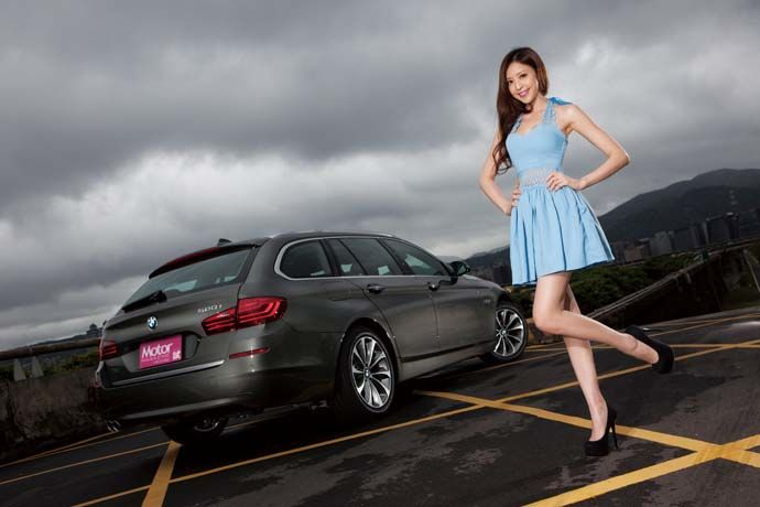 Date With LUCY - BMW 520i Touring 雨中的,邂逅。