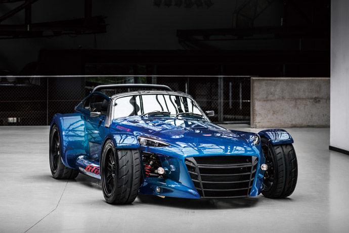 稀有超跑 - Donkervoort D8 GTO RS Bare Naked Carbon Edition 輕碳跑魂