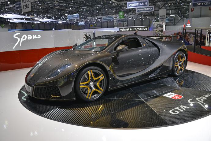 稀有超跑 - GTA Spano 2013 西班牙狼王