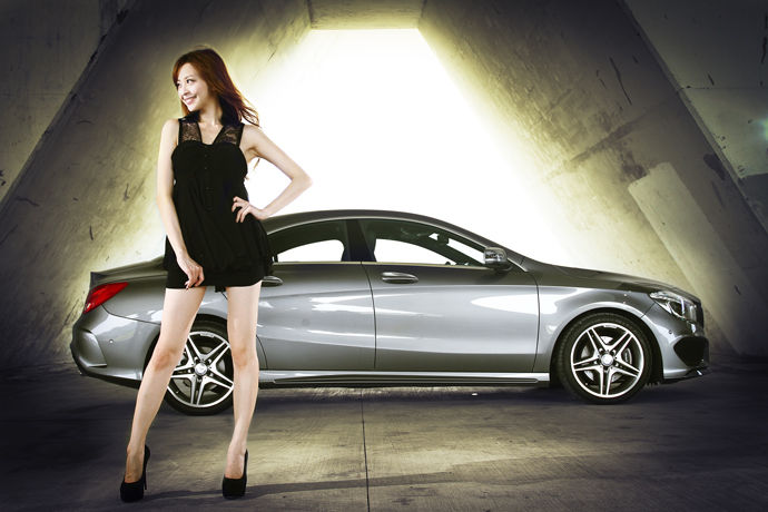 LUCY愛車-Mercedes-Benz CLA250