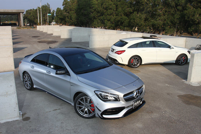 Mercedes-AMG CLA 45 4MATIC & Shooting Brake 孿生性能獵跑