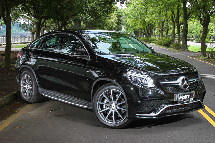 Mercedes-AMG GLE 63 4MATIC Coupe 動感體態 為之亮眼
