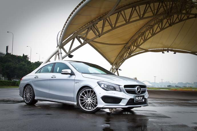 Mercedes-Benz CLA 45 AMG 4MATIC 不再低調 何需妥協