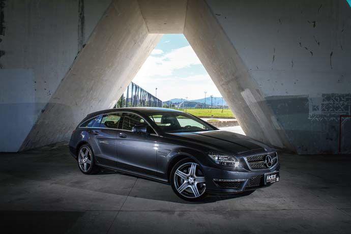 Mercedes-Benz CLS 63 AMG Shooting Brake 奔馳的狩獵本性