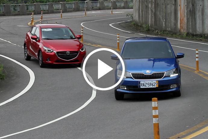 Mazda2 V.S. Fabia