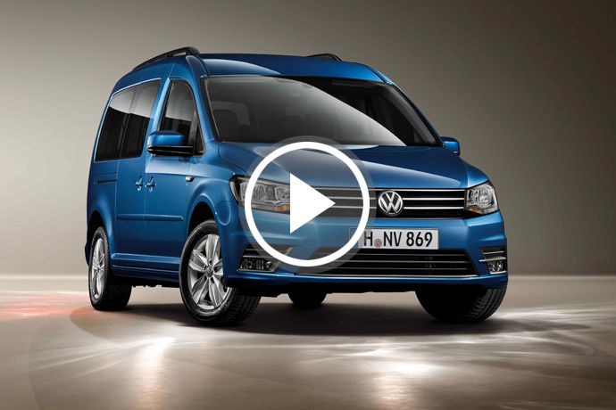 Volkswagen Caddy Maxi 發表
